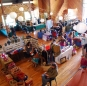 Vendors in Great Hall