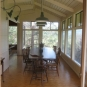 Pacifica Pond House dining area