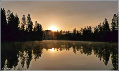 Lower Pond Sunrise