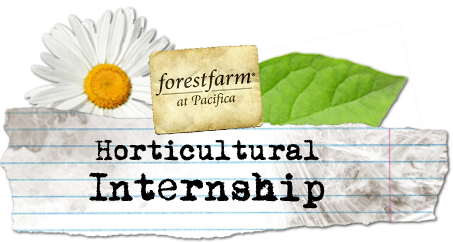 Pacifica Horticultural Internship Header