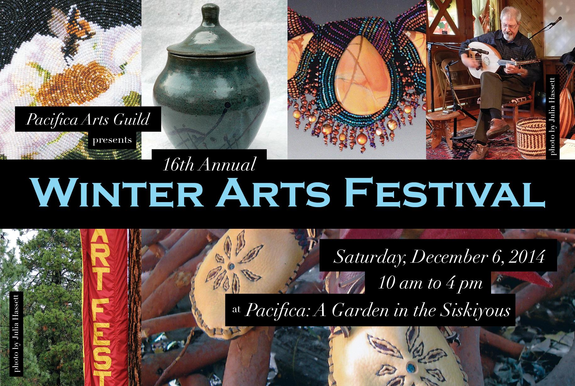 Winter Arts Fest Postcard 2014 Front